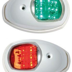 Kulkuvalopari LED Evoled – valkoinen ABS
