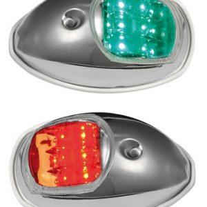 Kulkuvalopari LED Evoled – kiillotettu RST